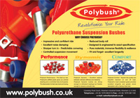 Polyurethane suspension bushes,